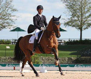 Chris von Martels & Divertimento Claim 1st Victory at Inaugural Tryon CDI3*