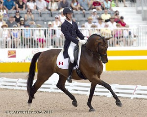 Chris von Martels & Zilverstar Help Canadian Dressage Team Claim Silver Medal at Pan American Games